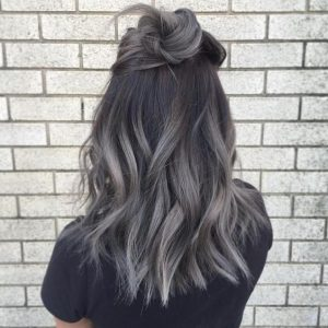 Hair Colors Best Color To Cover Gray For Brunettes Gerayzademerhgerayzademe Seven Advantages Of Blending Grey With